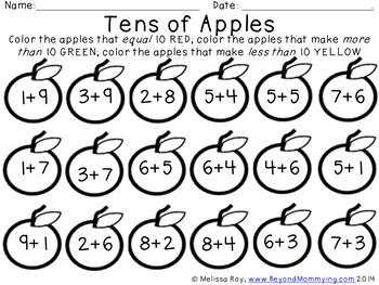Making Tens in Apple Trees
