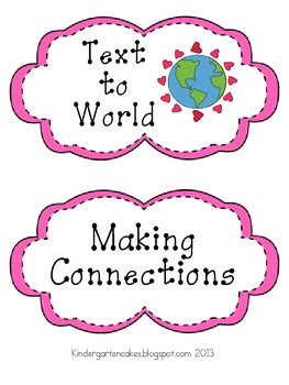 Making Text Connections Cards