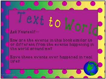 Making Text Connections-Classroom Posters