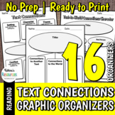 Making Text Connections Graphic Organizers Pack