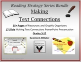 Making Text Connections Unit Resource and PowerPoint Bundle Common Core