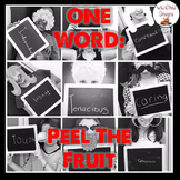 Making Thinking Visible Graphic Organizer Example: Peel the Fruit
