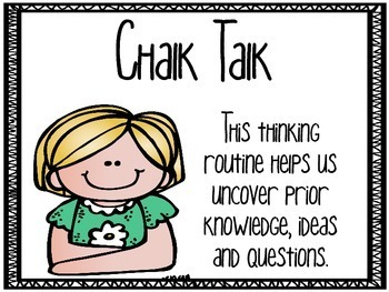 Making Thinking Visible--Thinking Routine Posters and Printables