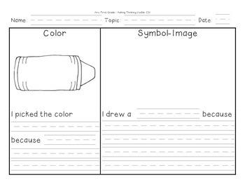 "Make Thinking Visible with Color Symbol Image ""CSI"""