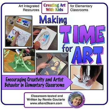 Making Time for Art - FREE RESOURCE