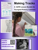 Making Tracks with Footprint Mysteries KG 1st 2nd GATE Primary Challenges!