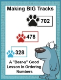 Making Tracks Ordering Numbers From Least to Greatest SMARTBOARD