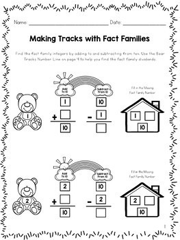 Fact Families Game
