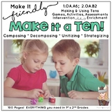 Making & Using Tens Strategy Pack: Add & Subtract with Friendly Numbers Grade 2