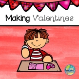 Making Valentine's Day Cards