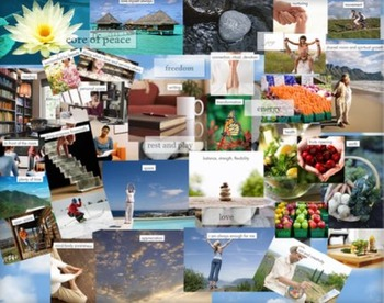 Making Vision Boards With Your Students