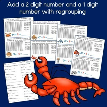 Adding multiples of 10 to a 2 digit number