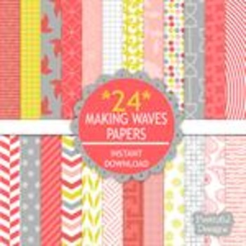 Making Waves Paper Pack