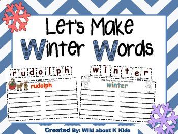 Making Winter Words