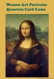 Women Art Portraits Quartets