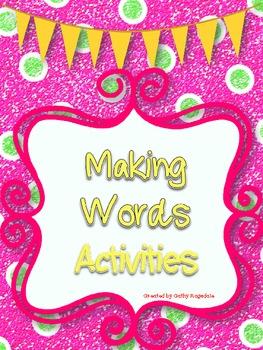 Making Word Activities