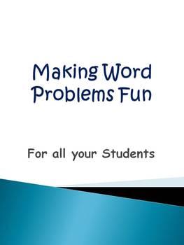 Making Word Problems Fun