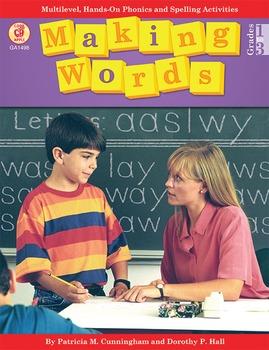 Making Words Grades 1-3 SALE 20% OFF! 0866538062