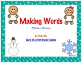Making Words Activity (Winter Theme)