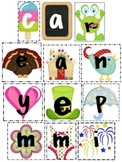 Making Words All Year Long - Alphabet Sets!
