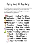 Making Words: All Year Long!