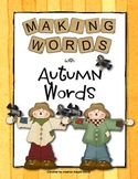 Making Words - Autumn Words
