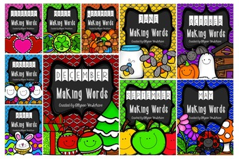 Making Words Bundle