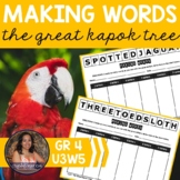 Making Words CENTER - Great Kapok Tree