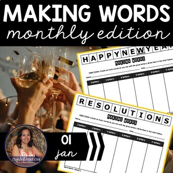 Making Words CENTER - January