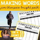 Making Words CENTER - Jim Thorpe's Bright Path