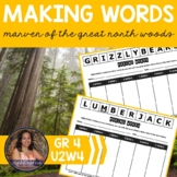 Making Words CENTER - Marven of the Great North Woods