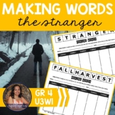 Making Words CENTER - The Stranger