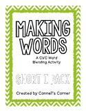 Making Words CVC Short I Pack