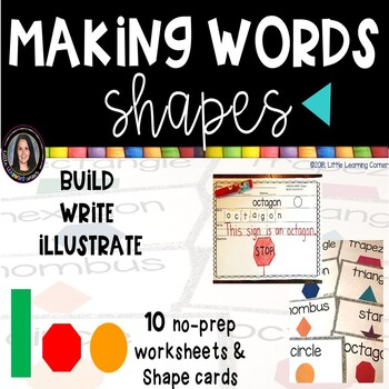 Making Words  SHAPES  center