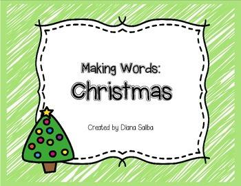 Making Words- Christmas