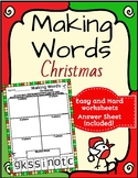 Making Words - Christmas