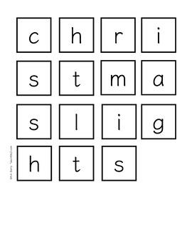 Making Words-Christmas Edition