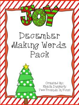 Making Words - December