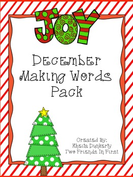 Making Words - December