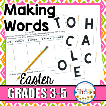 Making Words: Easter