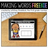 Making Words FREE Lesson Compatible with Google Slides