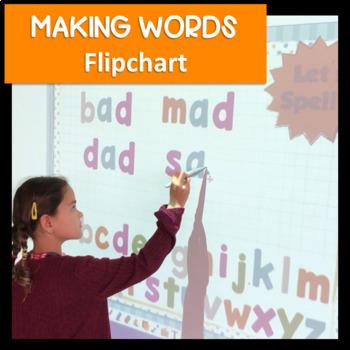Digital Word Work Flipchart & EDITABLE Printables