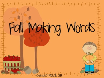 Making Words- Fall