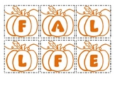 Making Words - Fall Festival