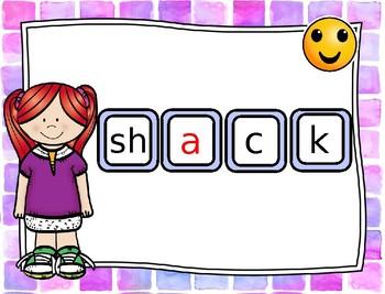 Making Words: First Grade  Reading Wonders U2 W4 (SH -a, e, i ) PART 1