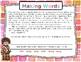 Making Words: First Grade  Reading Wonders U2 W4 (SH -o, u, y) PART 2