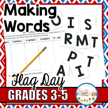 Making Words: Flag Day