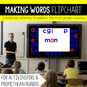 Making Words Flip Chart