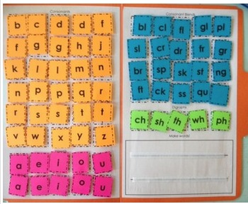 Making Words Folder! PART 2: Hands-on Spelling, Phonics, a