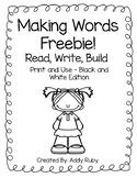 Making Words - Freebie